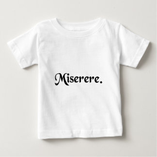 Tenga misericordia camisetas