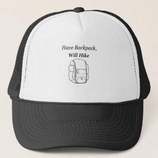Tenga mochila caminará gorra de camionero