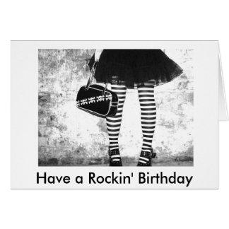 Tenga un cumpleaños de Rockin Tarjeta De Felicitación