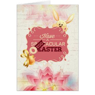 Tenga un Eggtacular Pascua Tarjetón