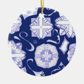 ¡Tenga un Jánuca feliz Ornamento De Reyes Magos