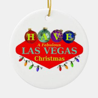 TENGA un ornamento fabuloso del navidad de Las Veg Adorno
