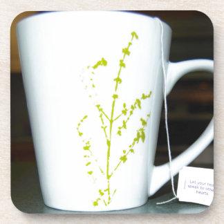 ¡Tenga un té de O de la taza! Posavasos