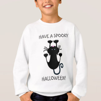 Tenga una camisa divertida fantasmagórica del gato