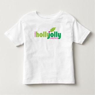 Tenga una camiseta alegre del niño del navidad del