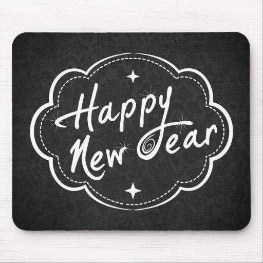Tenga una Feliz Año Nuevo Alfombrillas De Ratones