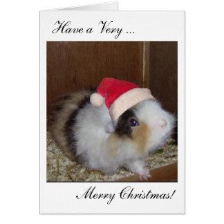 ¡Tenga una tarjeta de las Felices Navidad de