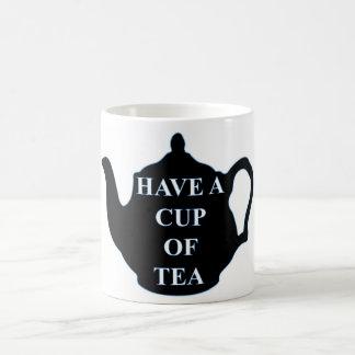 Tenga una taza de té