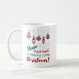 Tenga usted mismo una feliz pequeña taza del