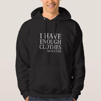 Tengo bastante ropa sudadera