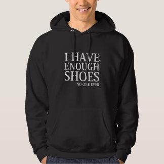 Tengo bastantes zapatos sudadera