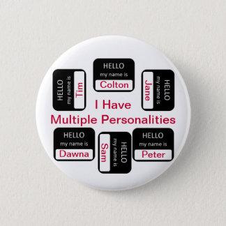 Tengo botón de las personalidades múltiples