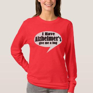 Tengo camiseta de Alzheimer