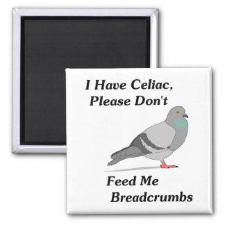 Tengo celiaco, por favor no me alimento migajas de iman de nevera