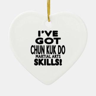Tengo Chun Kuk hago habilidades del arte marcial Adorno