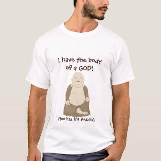 ¡Tengo el cuerpo de DIOS! Camiseta