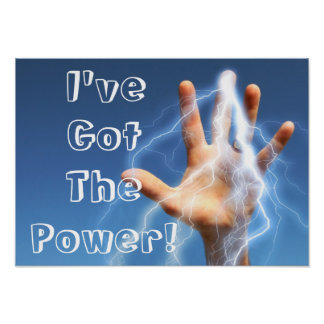 ¡Tengo el poder! Póster