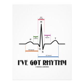Tengo el ritmo (ECG/EKG - el esquema del carril de Tarjetas Informativas