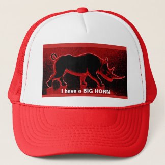 Tengo gorra del BIG HORN de un camionero rojo del