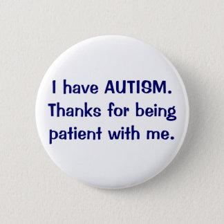 Tengo gracias del AUTISMO por ser botón paciente