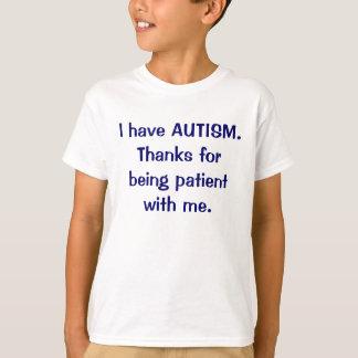 Tengo gracias del AUTISMO por ser camiseta