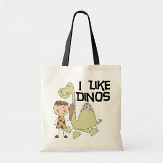 Tengo gusto de Dinos - las camisetas y los regalos Bolsa Tela Barata