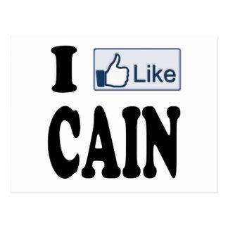 Tengo gusto de Herman Caín para el presidente 2012 Postal