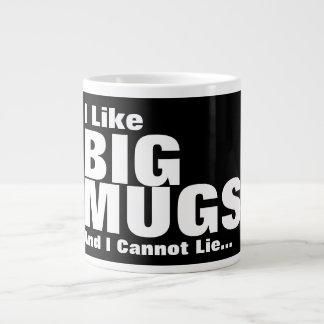 Tengo gusto de las tazas grandes y no puedo mentir