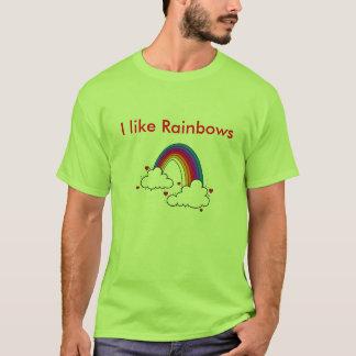 Tengo gusto de los arco iris - modificados para camiseta