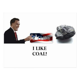 Tengo gusto del carbón Romney Postal