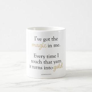 Tengo la taza mágica