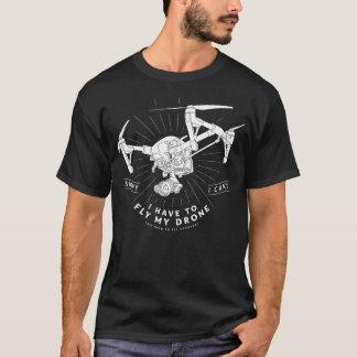Tengo que volar mi abejón camiseta