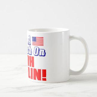 ¡Tengo un agolpamiento en Sarah Palin! Taza De Café