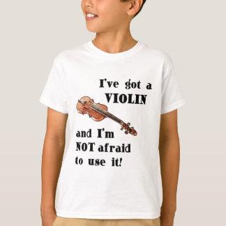Tengo un violín camiseta