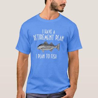 Tengo una camisa de la pesca del plan de retiro