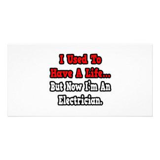 Tenía un electricista de la vida… tarjetas personales
