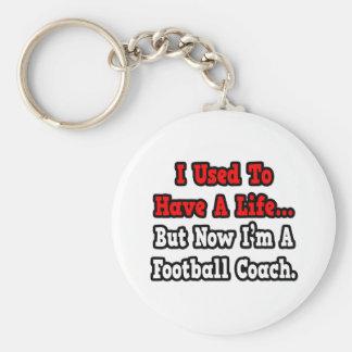 Tenía un entrenador de fútbol de la vida… llavero redondo tipo chapa