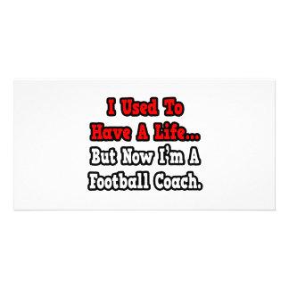 Tenía un entrenador de fútbol de la vida… tarjetas fotográficas