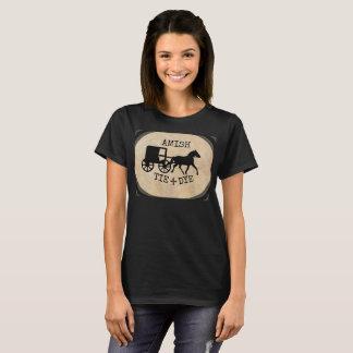 Teñido anudado de Amish Camiseta