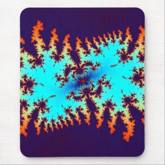 teñido anudado del fractal: estampado de animales alfombrilla de ratón