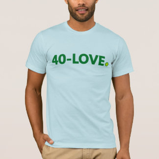Tenis 40-Love Camiseta