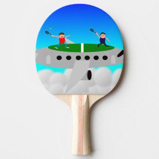 Tenis en palos de un ping-pong del avión pala de ping pong