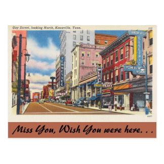 Tennessee, calle gay, Knoxville Postal