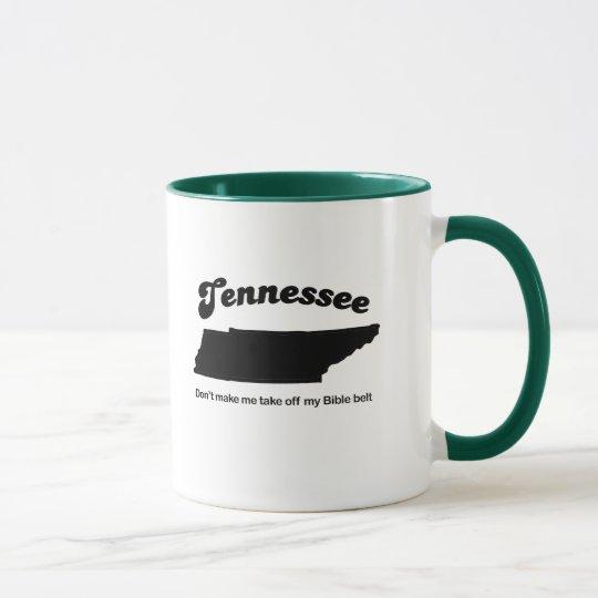 Tennessee - Cinturón de la Biblia Taza