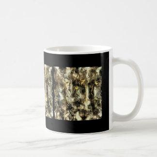 Tensión nerviosa taza de café