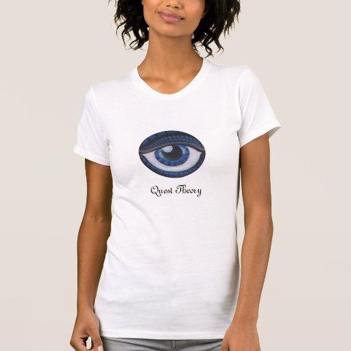 Teoría de la búsqueda - ojo de las camisetas sin