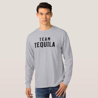 Tequila del equipo. Camisa de consumición