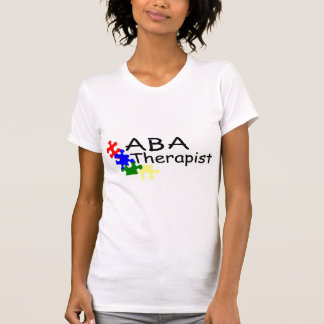 Terapeuta del ABA 4 PP Camisetas