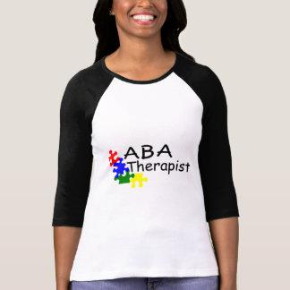 Terapeuta del ABA (4 PP) Camisetas