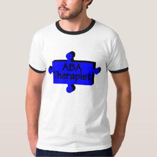 Terapeuta del ABA (azul) Camisas